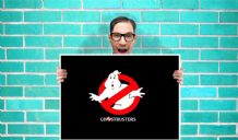 Ghostbusters Art  - Wall Art Print Poster Pick A Size - Movie Art Geekery